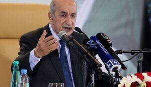 تبریک رئیس جمهور الجزایر به رئیسی