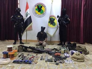 نیروهای امنیتی عراق ۵ داعشی را به دام انداختند +عکس
