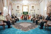 عکس/ دیدار فرماندهان عالیرتبه نظامی با رئیسی