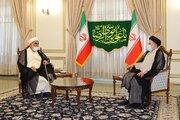 عکس/ دیدار رئیس دفتر رهبر انقلاب با رئیسی