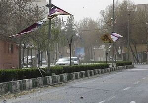هشدار وزش باد شدید در برخی استانها