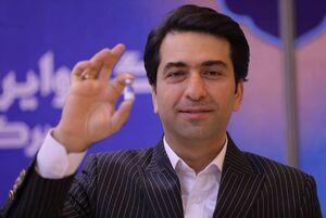 محمد معتمدی واکسن ایرانی زد + تصاویر
