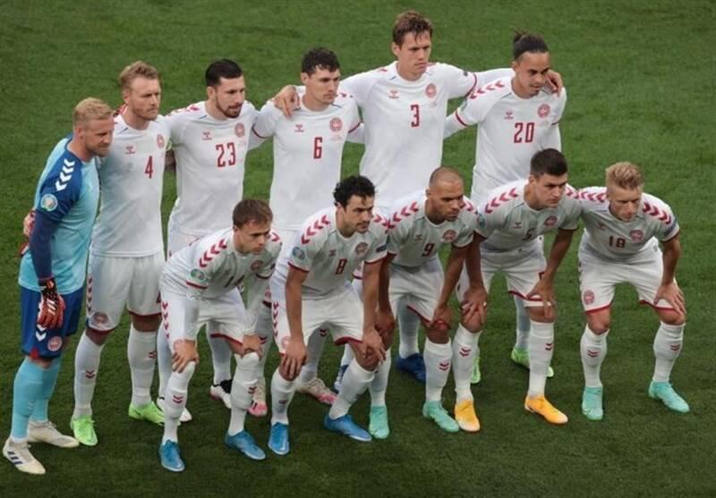 یورو 2020 , تیم ملی فوتبال دانمارک , تیم ملی فوتبال روسیه ,