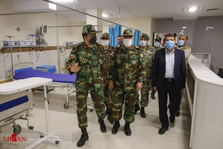 واکسیناسیون  در بیمارستان ۱۰۰ تختخوابی هوانیروزبا واکسن ایرانی