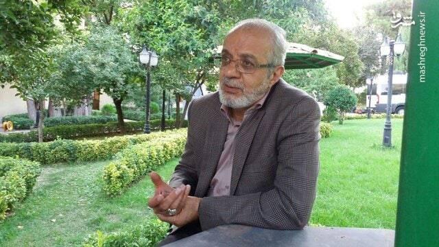 کنایه مجری تلویزیون به اتهام پراکنی احمدی نژاد علیه حسن خجسته