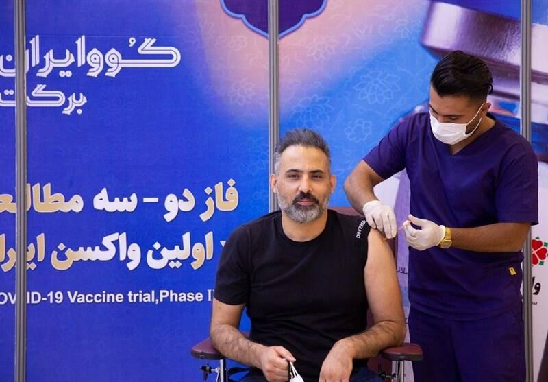 محمد معتمدی , کرونا , واکسن ایرانی کرونا ,