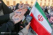 عکس/ جشن حامیان رئیسی در تبریز