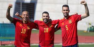 بازی «مرگ و زندگی» برای تیم اسپانیا