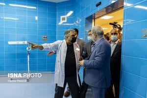 عکس/ افتتاح بیمارستانی در شهر مرزی گلستان
