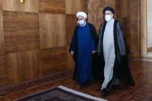 عکس/ دومین دیدار روحانی با رئیس جمهور منتخب
