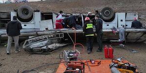 عامل حادثه واژگونی اتوبوس خبرنگاران اعلام شد