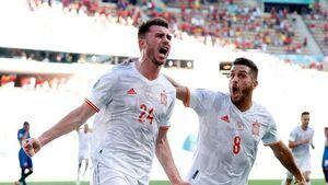 اسپانیا با گلباران اسلواکی به مرحله یک هشتم نهایی رسید