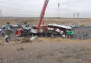 علت حادثه اتوبوس خبرنگاران چه وقت اعلام میشود؟