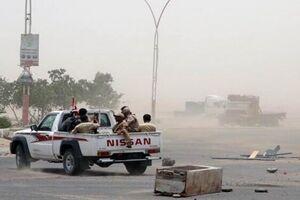 شبهنظامیان وابسته به امارات در یمن به جان هم افتادند +فیلم
