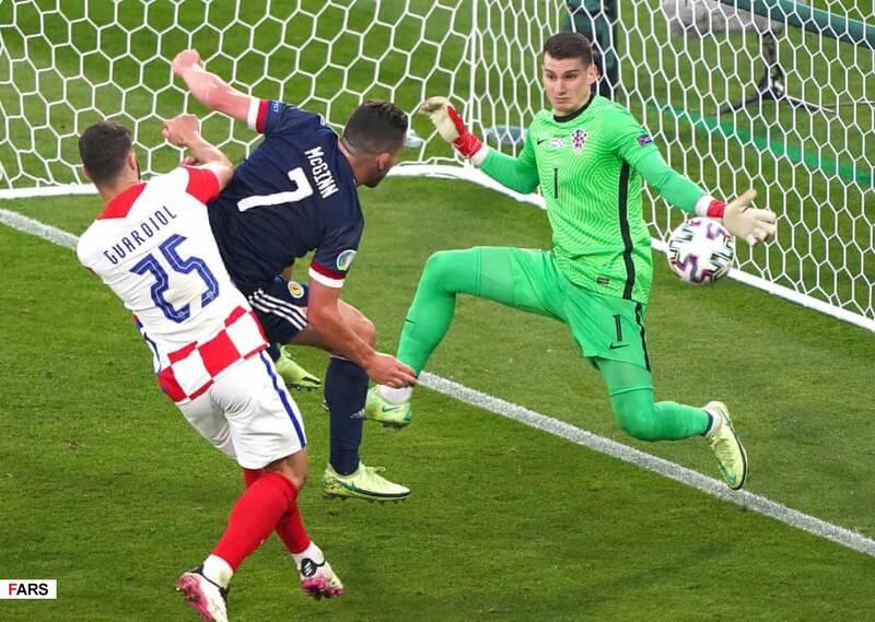 گزارش تصویری از دیدار تیم های کرواسی و اسکاتلند