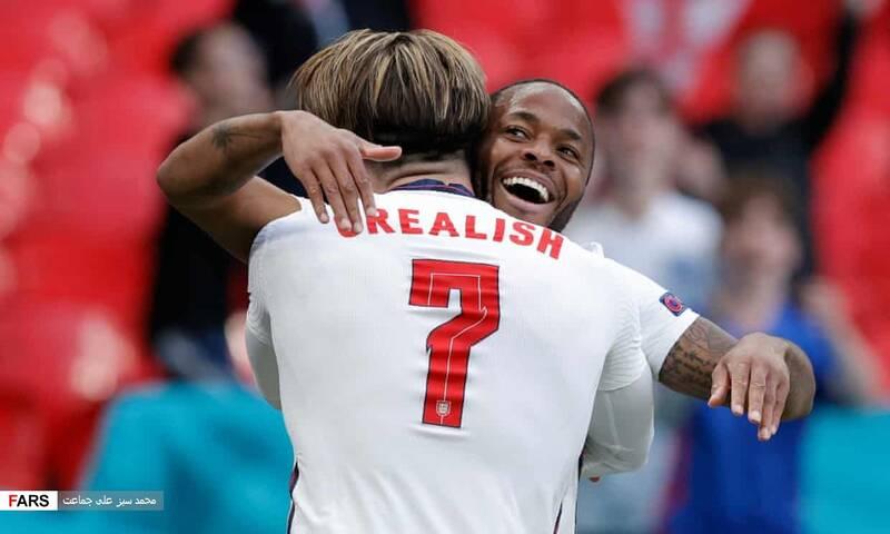 کزارش تصویری از دیدار تیم های انگلیس و چک