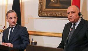 رایزنی وزرای خارجه آلمان و مصر درخصوص ایران و آخرین تحولات منطقه - کراپشده