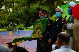 عکس/ جشن باشکوه امام رضاییها در محله یوسفآباد