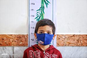 عکس/ سنجش سلامت نوآموزان