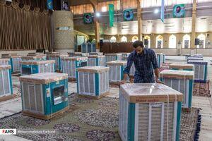 """عکس/ توزیع ۱۰۰ کولر توسط """"علمدار جهاد"""""""