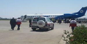 بازگشت خبرنگاران حادثه دیده در واژگونی اتوبوس به تهران