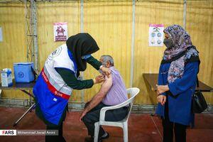 عکس/ تزریق دوز دوم واکسن کرونا در قزوین