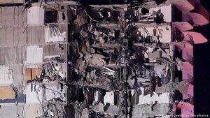 فروریختن ساختمان ۸ طبقه در هند +فیلم