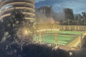 توقف جستجوی بازماندگان حادثه فروریختن برج فلوریدا