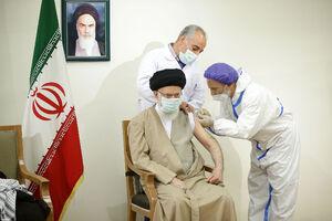 عکس/ تزریق واکسن ایرانی کرونا به رهبرانقلاب