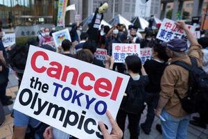 عکس/ تجمع مخالفان برگزاری المپیک در توکیو