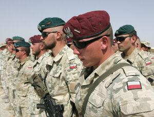 خروج نیروهای لهستانی از افغانستان تا ۹ تیر