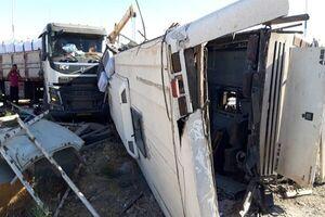 اطلاعات جدید از جانباختگان حادثه واژگونی اتوبوس سرباز معلمان