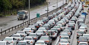 ترافیک در هراز و آزادراه پردیس-تهران