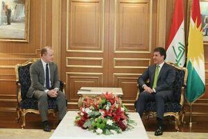 رایزنی رئیس اقلیم کردستان عراق با مقام آمریکایی