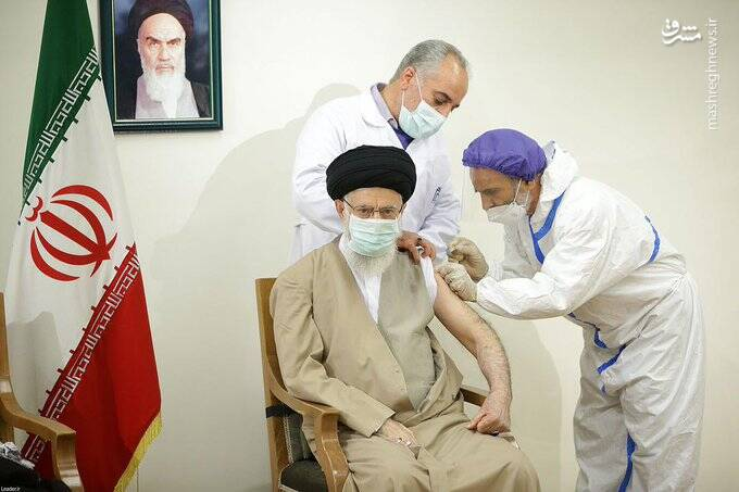 افتخار ایرانی در نگاه و مشت رهبرانقلاب