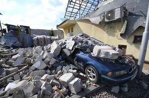 عکس/ خسارت گردباد در جمهوری چک