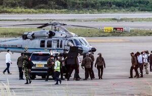 پاداش میلیاردی برای شناسایی عاملان حمله به بالگرد رئیسجمهور کلمبیا