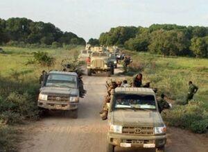 آواره شدن هزاران سومالیایی در جریان عملیات ارتش