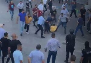 نیروهای امنیتی تشکیلات خودگردان تظاهرات علیه ابومازن را سرکوب کردند