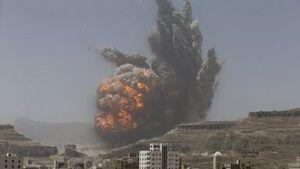 حملات هوایی ائتلاف عربستان به یمن با ادعای تلاش برای صلح