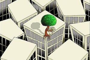 کاریکاتور/ اینم خودکشی آخرین درخت!