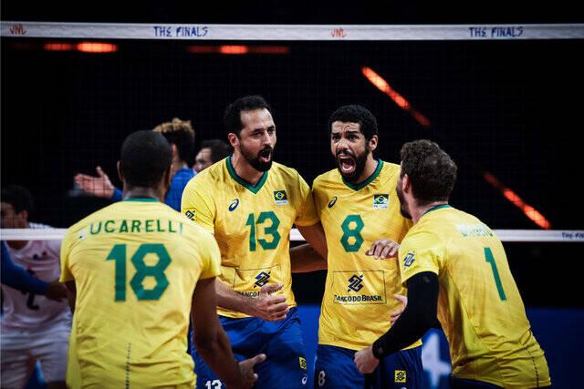 برزیل به فینال لیگ ملتهای والیبال رسید