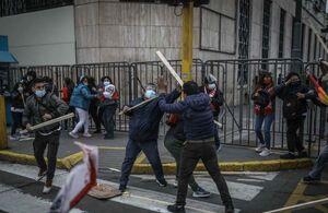 درگیری بین طرفداران نامزدهای انتخابات در پرو