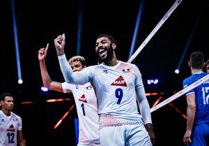 لیگ ملتهای والیبال| فرانسه با درخشش انگاپت سوم شد