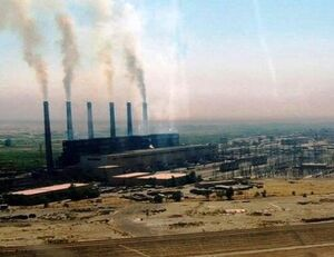 حمله موشکی به نیروگاه سامراء عراق