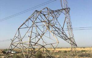 چند دکل انتقال برق دیالی-بغداد منفجر شد
