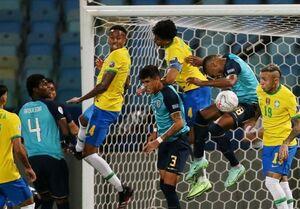 توقف برزیل، صعود اکوادور و پیروزی پرو