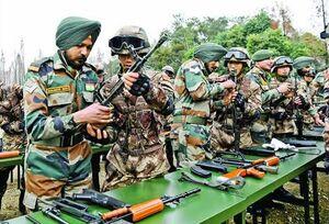 نیروی نظامی هند سربازان هندی