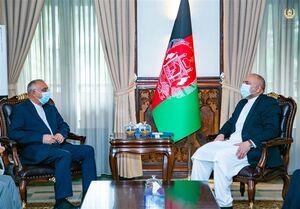 اتمر در دیدار با طاهریان: تقویت اجماع منطقهای برای موفقیت روند صلح افغانستان ضروری است