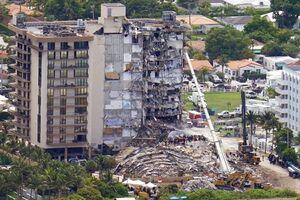 ۹ کشته در ریزش برج میامی؛ تیراندازی در اوکلند و لس آنجلس +فیلم